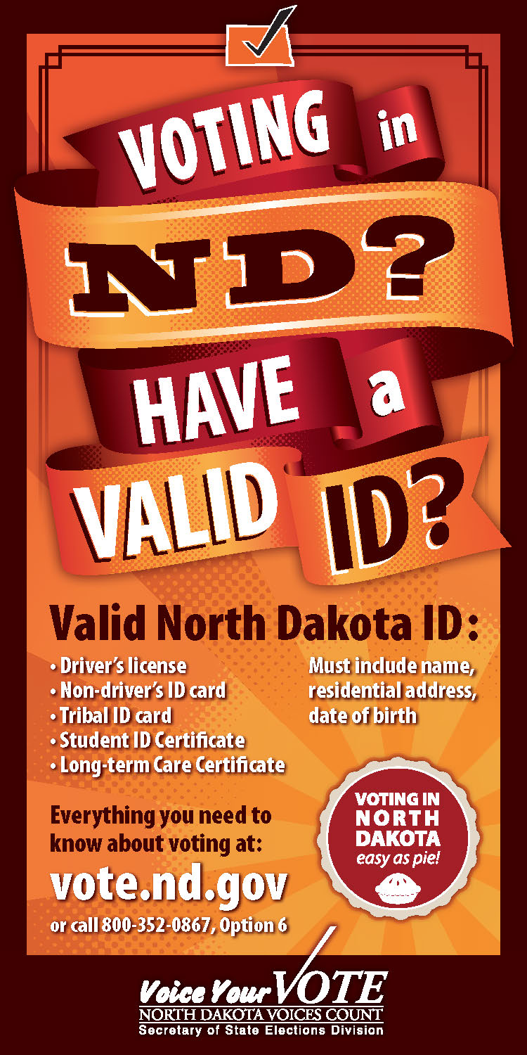 Voter ID Newspaper Color