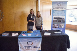 Bismarck Cancer Center Booth