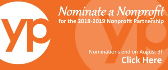 Nominate a Nonprofit 2018-2019
